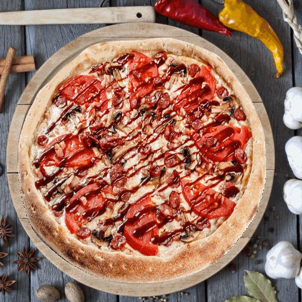Пицца Барбекю 33см
