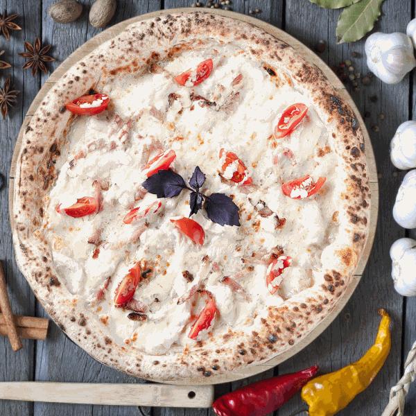 Пицца Белый цыплёнок  33см