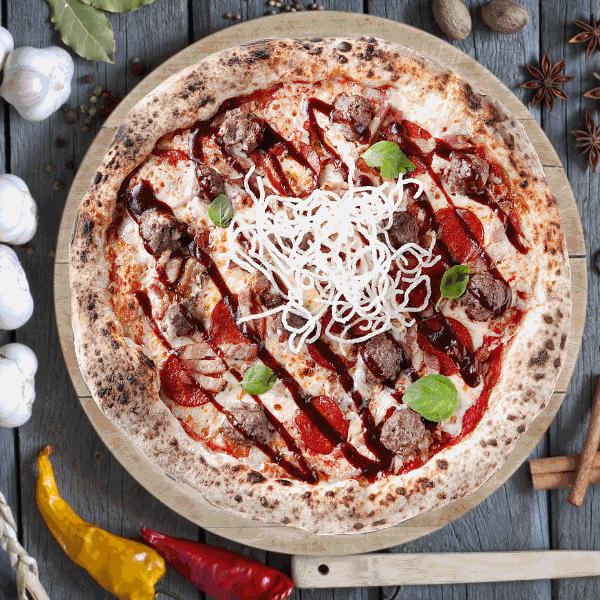 Пицца Мясная Сытная