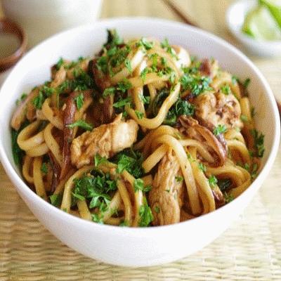 wok с говядиной